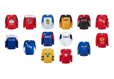 Olympic jerseys ready