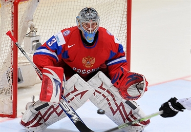 Russia wins on home ice