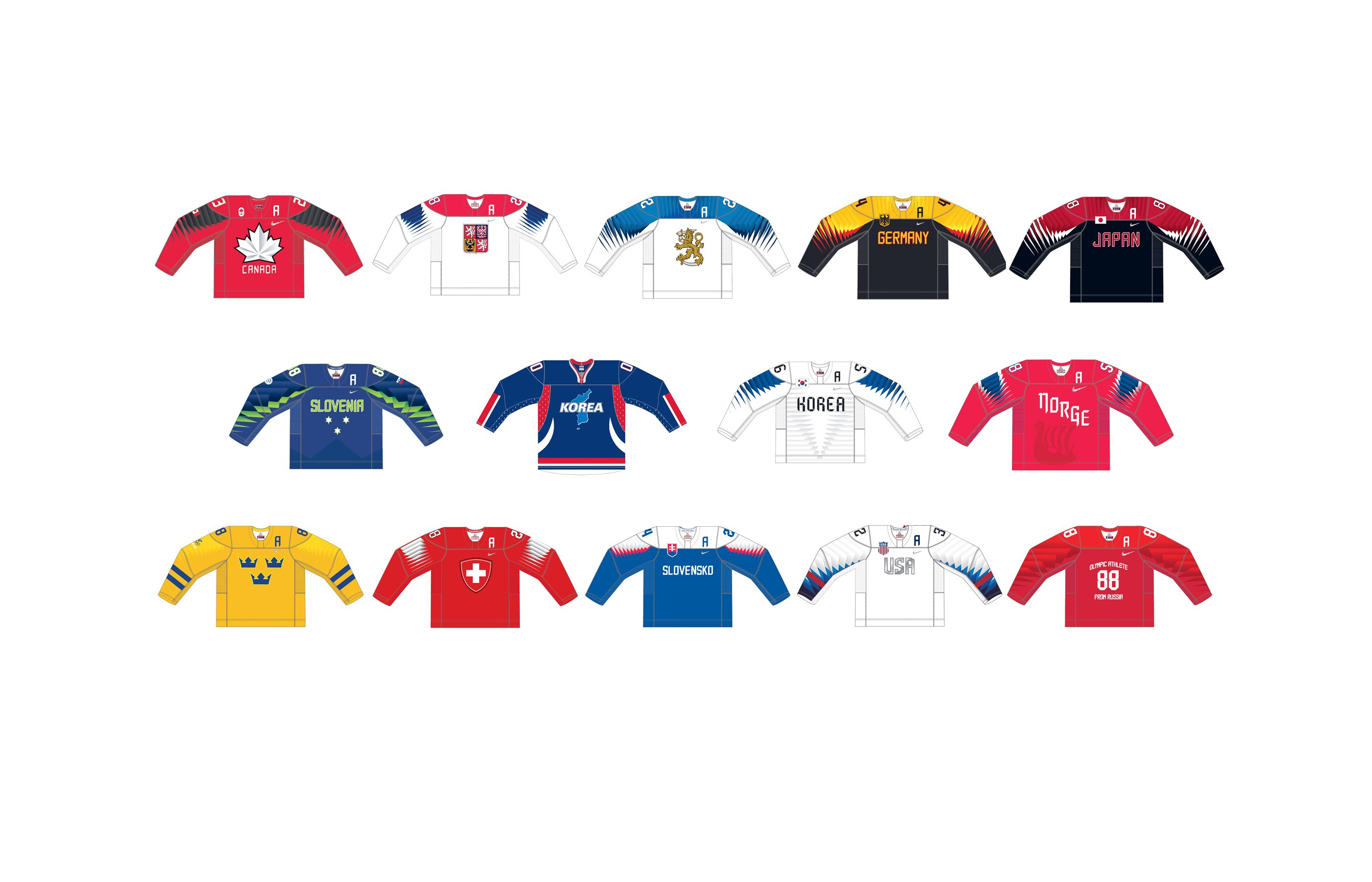 Jerseys are here - Olympic - International Ice Hockey Federation IIHF a9388d9903d