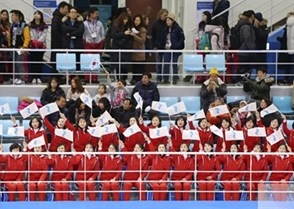 GANGNEUNG, SOUTH KOREA - FEBRUARY 10: Switzerland vs Korea preliminary round PyeongChang 2018 Olympic Winter Games. (Photo by Andre Ringuette/HHOF-IIHF Images)